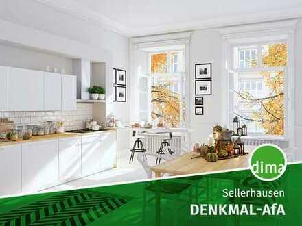 SANIERUNGS-START BALD | Denkmal-AfA und KfW 151 | super Wohnung mit tollem Schnitt