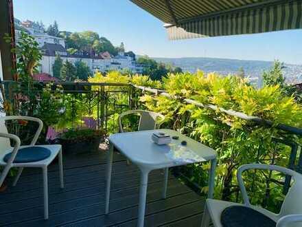 Hübsche 4 Zimmer Maisonette-Whg. mit tollem Balkon in bester Wohnlage!