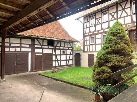 Hellingen - zauberhafter Vierseithof, toller Garten, viel Platz für Familie, Haustiere und Handwerk.