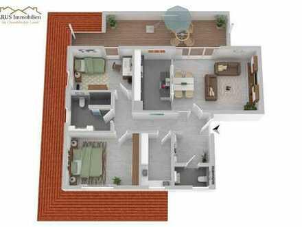 ***Moderne Penthousewohnung im KFW 40 Neubau -Vörden***