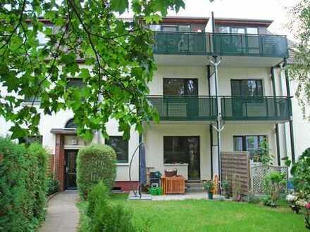 Großzügige 3-Zimmer-Wohnung mit sonnigem Balkon in fast ländlicher Lage!