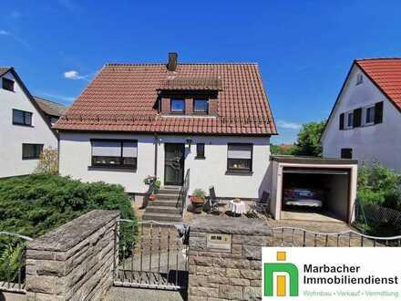 Schmuckstück mit tollem Garten in beliebter Wohnlage von Marbach