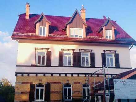 Wohnen und Arbeiten in einer Denkmalgeschützen Stadtvilla direkt im Zentrum von Kirchheim unter Teck