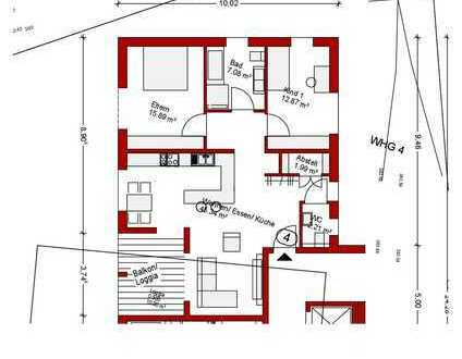 Traumwohnung in 6-Familienhaus OG Nr. 4 - Reserviert