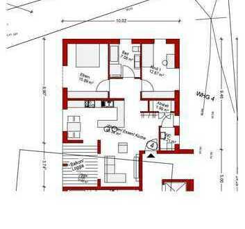 Traumwohnung in 6-Familienhaus OG Nr. 4
