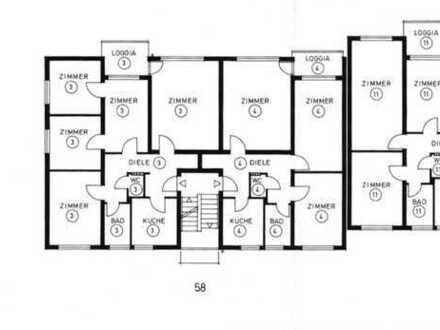 Geräumige 3-Zimmer Wohnung mit Loggia
