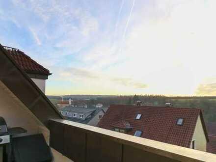 Helle 3,5 Zimmer-Wohnung mit 2 Balkonen