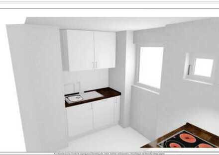 Stilvolle, modernisierte 2-Zimmer-Wohnung mit Balkon und EBK in Sindelfingen