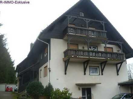 Ebenerdige Wohnung mit Terrasse und Garage
