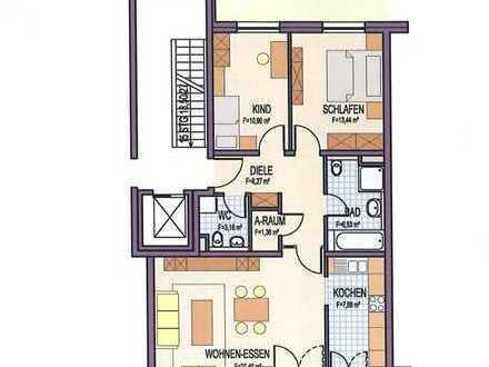 Exklusive, neuwertige 3,5-Zimmer-Wohnung mit Balkon und Einbauküche in Weil am Rhein