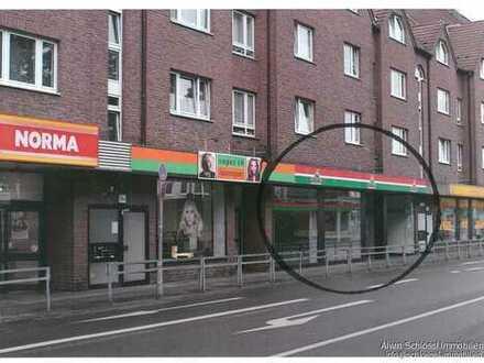 Zentrale Bestlage Köln-Porz: Ladenlokal in idealer Lauflage, direkt zwischen NORMA und NETTO, 200 m²