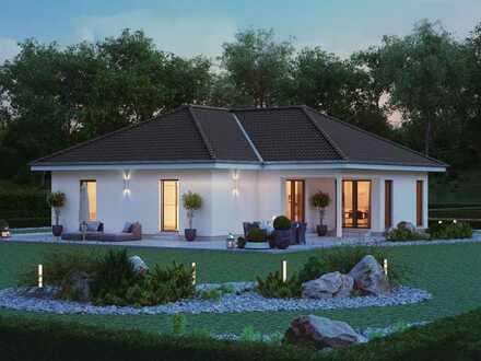 Haus mit großem Garten – für das Erholungspark-Gefühl vor der eigenen Tür.
