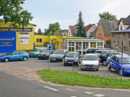 Kfz-Werkstatt mit Grundstück in zentraler Lage (Mischimmobilie)
