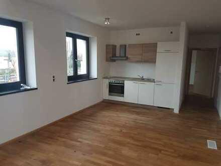 Vollständig renovierte 2-Zimmer-Wohnung mit Einbauküche in Saal
