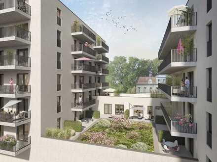 Erstbezug! Wohlfühlen im neuen Zuhause - Helle 2-Zimmer-Wohnung - Balkon - Einbauküche
