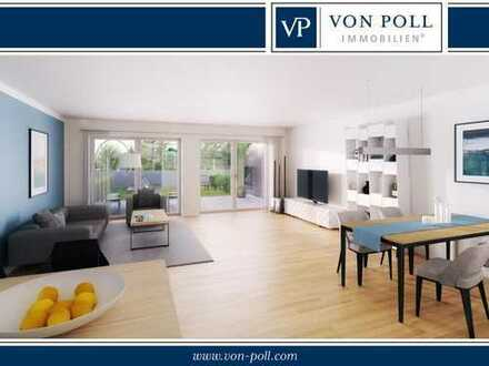 Modern, zentrumsnah und provisionsfrei: Neubauwohnung mit Terrasse und Gartenanteil