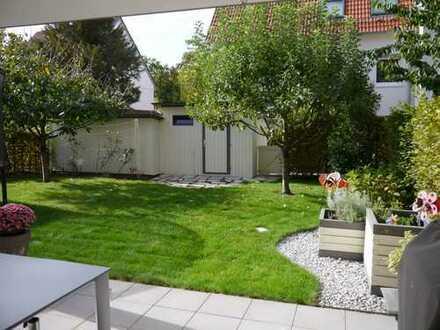 4-Zimmer-Wohnung mit großem Garten und EBK in Kirchheim/Ötlingen - 600m zur S-Bahn