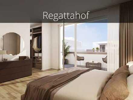 Für Genießer! 3-Zimmer-Wohnung mit 2 Dachterrassen und hohem Wohnkomfort in Wasserlage