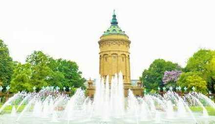 Wohnen im Herzen der Mannheimer Oststadt vis a vis der Christuskirche.