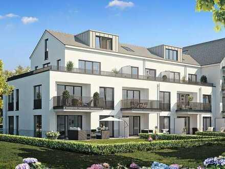Moderne 2-Zimmer-Dachgeschosswohnung auf ca. 45 m² in ruhiger Lage mit bester Anbindung