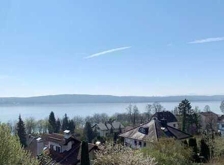 Bestlage in Starnberg - Herrliche Wohnung mit großartigem Panorama See- und Alpenblick