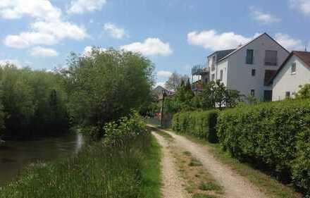 Helle 4ZKB Wohnung in Großmehring mit Blick ins Grüne