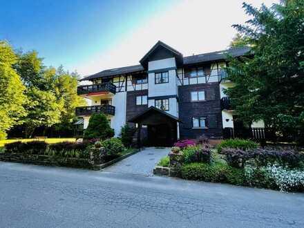 Viele Nutzungsmöglichkeiten: Hotelanlage mit Waldgaststätte in Alleinlage