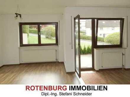 1-Zimmer-Wohnung mit Terrasse, ebenerdig, gute Wohnlage