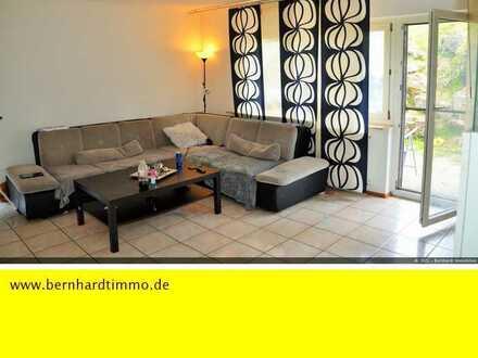 3 -Zimmer-Wohnung mit Terrasse und Blick ins Grüne