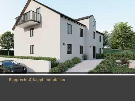 3-Zimmer-Neubauwohnung 1.OG mit 4 Wohneinheiten in KfW 55 Standard in Schwandorf/Fronberg