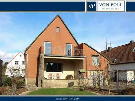 Beliebte Wohnlage von Wunstorf-Luthe - großzügiges Einfamilienhaus mit Keller und Doppelgarage