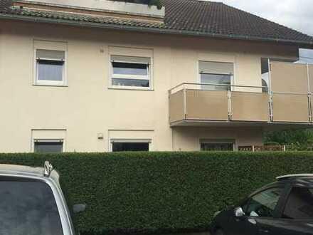 Modernisierte 2,5-Zimmer-Hochparterre-Wohnung mit Balkon und EBK in Kürnbach