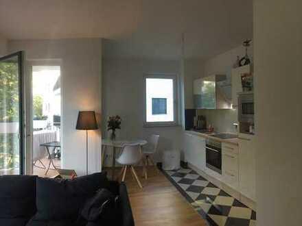 Nachmieter gesucht - moderne 2-Zimmer-Wohnung mit Balkon und EBK in Stötteritz