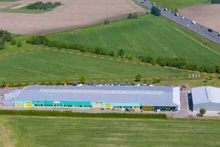 2,7 ha Fläche im Temnitzpark - unmittelbar einsehbar von der Autobahn