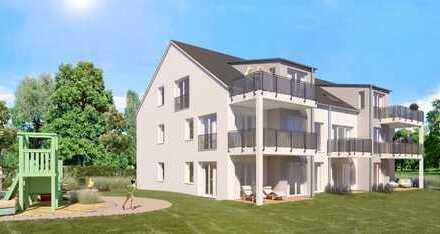ETW 3/Haus A * Schöne 2-Zi-Neubauwohnung mit sonniger Terrasse und Gartenanteil