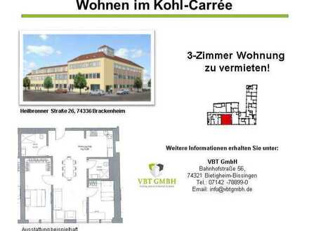 Geräumige 3-Zimmer Erdgeschoss Wohnung (Nr. 0.06 C)
