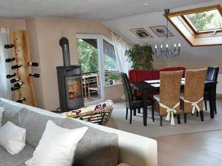 Vermiete 4-Zimmer-Wohnung mit Schwedenofen