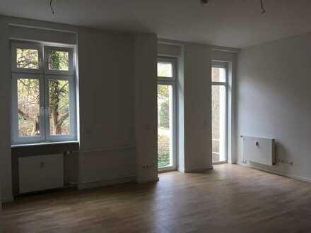Erstbezug mit Loftcharakter: 2 Zimmer hofseitig gelegen