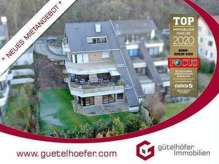 Großzügig und renoviert! Terrassenwohnung mit Garten und TG-Stellplatz in beliebter Halbhöhenlage