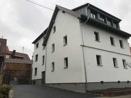 Neue 3,5 Zimmer Eigentumswohnung (1.OG), Altbau + Neubau mit erweiterter Wohnfläche