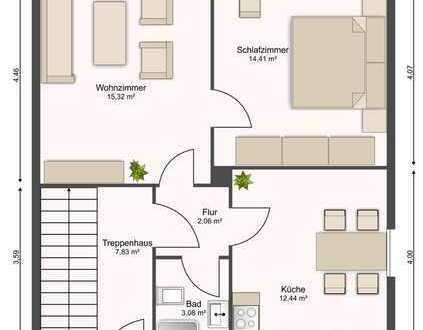 Mehrfamilienhaus mit großem Potential in traumhafter Lage nahe der A7