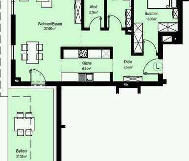 NEUBAU Schöne 2-Zimmer-Wohnung in Bad Mergentheim
