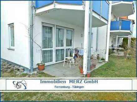 Gut vermietete 4-Zimmer Eigentumswohnung mit Balkon, Terrasse und Gartenanteil