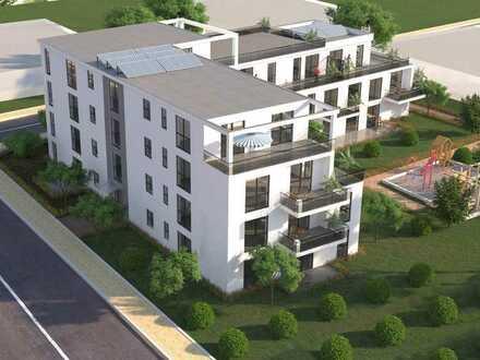 Neubau! Exklusive 3 Zimmer Wohnung mit 2 Balkone