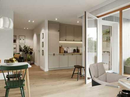Wohnung Nr. 20 (Haus B), 72,88 m², 2.OG