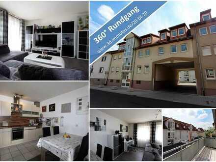 KAPITALANLAGE oder EIGENNUTZUNG - Schöne - Helle Eigentumswohnung mit Balkon und Garagenstellplatz