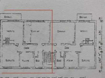 Attraktive 3-Zimmer-Wohnung mit Balkon in Datteln