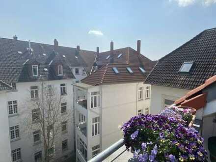 Über den Dächern von Braunschweig, wunderschöne Maisonettewohnung im östlichen Ringgebiet