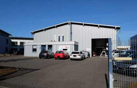 Gewerbe/Lagerhalle mit Büros im Industriegebiet Trier Euren