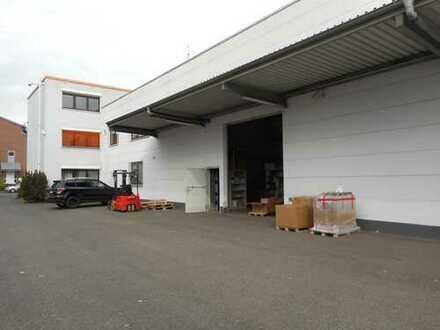freistehende Liegenschaft mit Hallen- und Büroflächen in guter Lage im Gewerbegebiet Ossendorf